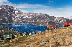 Tasiilaq 1 (Photos On The Road) Tags: sea panorama mountains ice montagne landscape mare greenland fjord ghiaccio groenlandia 5photosaday