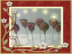 Coklat Bunga - ukuran kecil