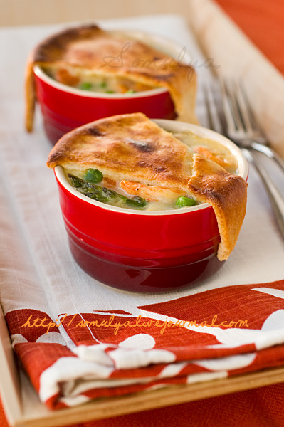 Spring Vegetable Pot Pies