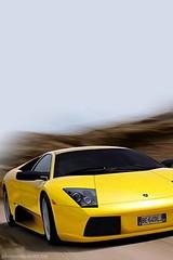 Car iphone wallpaper Ferrari car yellow