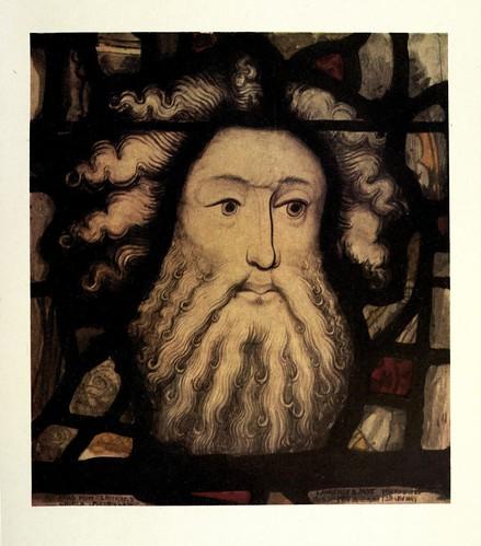 025- Detalle cabeza de San Miguel- Spurriegate-York siglo XV