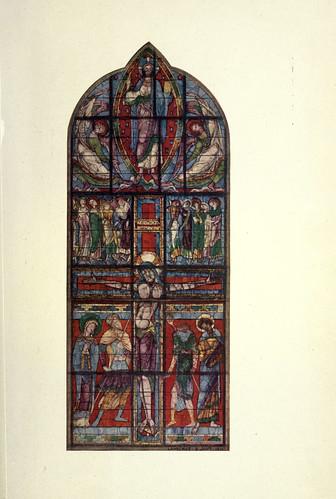001-Parte del vitral de la crucifixcion Poitiers finales siglo XII