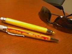 IMAG0027 (jchurch) Tags: shozu me mobile pen glasses treo budget palm pro highlighter checks