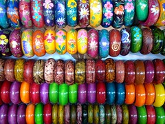 Colorful Wristband Chiang Mai Thailand /  (AmpamukA) Tags: thailand colorful chiangmai chiang wristband rai   colourartaward  ampamuka