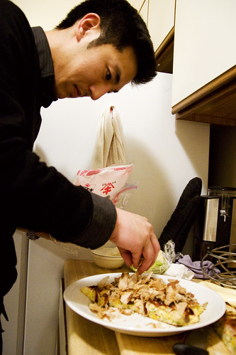 bonito-ize the okonomiyaki
