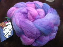 Woolarina Roving in Lavender