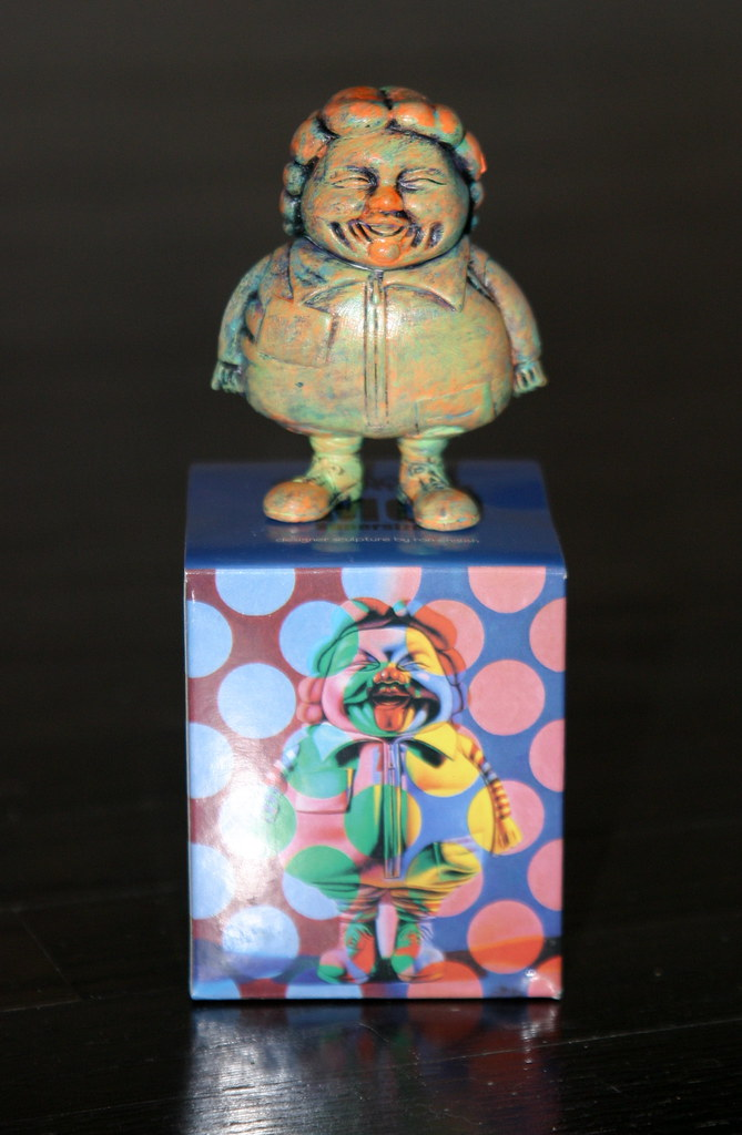 Hand Painted Mc Supersized mini by Ron English