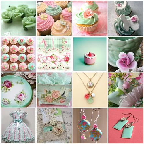 Daily Inspiration - Mint x Pink - 1/365
