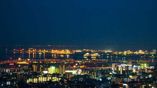 night view, Kobe