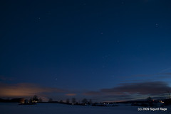 Field and Stars (Sigurd R) Tags: sky field norway night stars landscape long exposure akershus d60 beautifulearth s