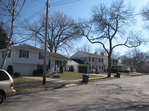 Homes Along Northrup Dr