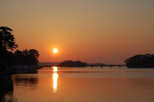 Morning glow in Matsushima
