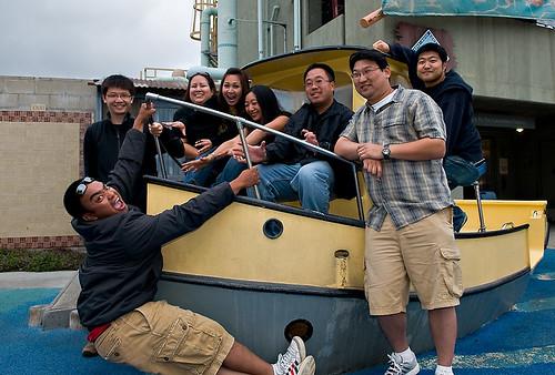 flickr folk on a boat...