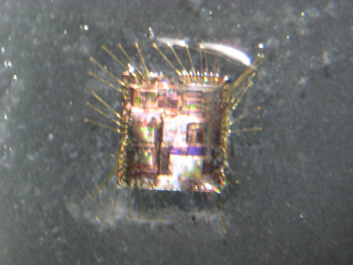 MSP430F2013 Die Extraction