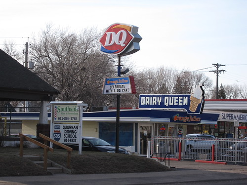 Dairy Queen along Portland Ave S