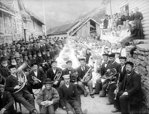 Celebrations, Flatekval, ca. 1890.