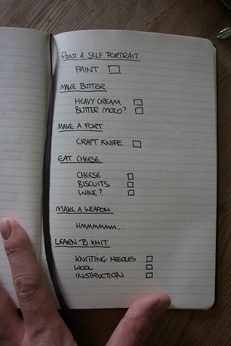 Challenge Shopping List
