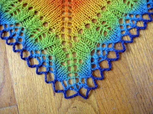 Rainbow Stole detail