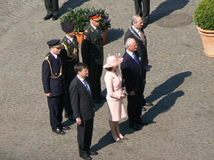 King and queen of Sweden, Balkenende and Cohen...