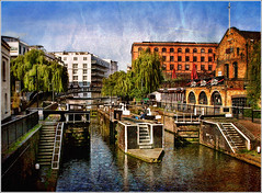 Morning Light At Camden Lock (Glenbourne At Home) Tags: morning england colour london spring markets sunny canals regentscanal soe camdentown camdenlock tonemapping platinumphoto anawesomeshot superaplus aplusphoto platinumheartaward