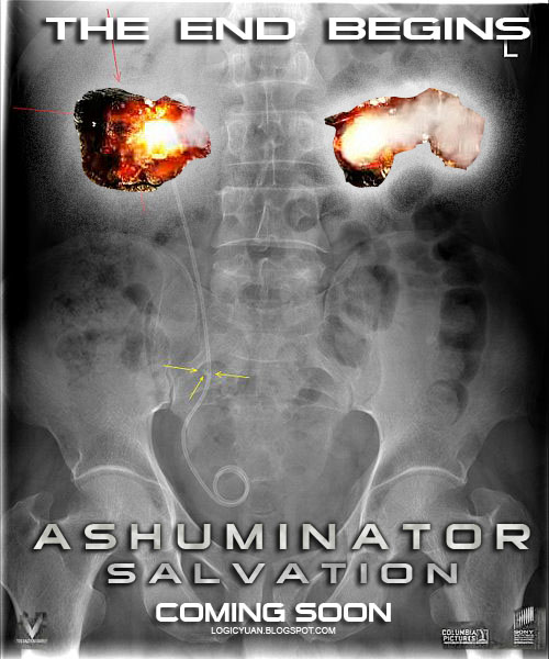 Ashuminator Salvation poster