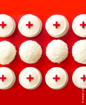 Sprinkles Nurses Day cupcakes