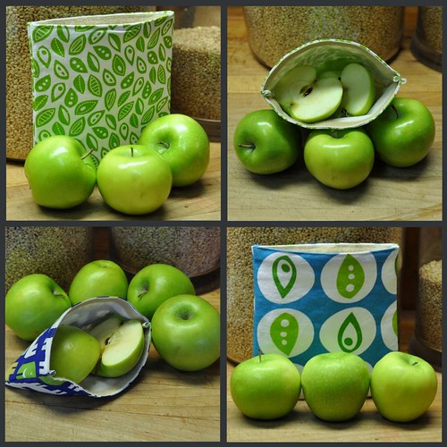Reusable Cloth Sandwich Bags