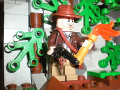 Indys Revolver (Dog Ironbones A.K.A. SalmonFifteen) Tags: jones lego hans indiana solo vs vignette