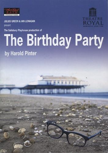 The Birthday Party - Harold Pinter