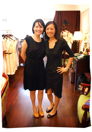 Singapore fashion designer, Dorothy Loh (and Karen Cheng)