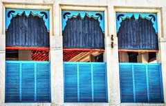 Traditional Bahraini Windows