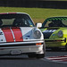 #12 David Withers 1974 Porsche 911 Carrera #41 Geoff Morgan 1975 Porsche 911 Carrera