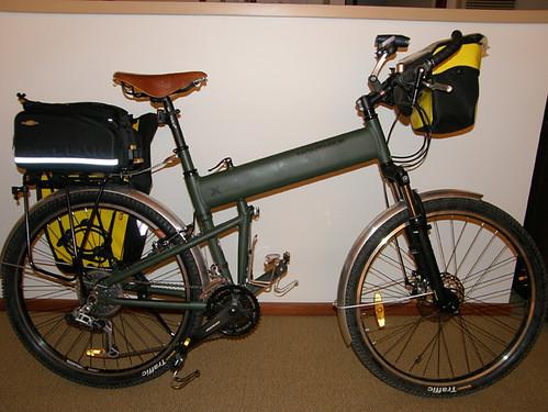 Trekking With The Paratrooper Folding Bike Montague Bikes