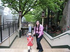 Petit bonhomme aux Jardins Tivoli
