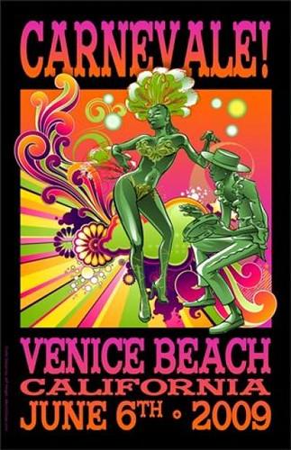 venice beach carnevale
