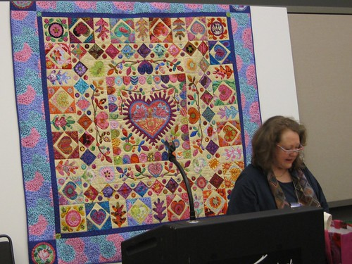 Liza & new quilts