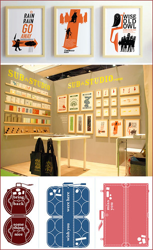 sub-studio booth at the Stationary show
