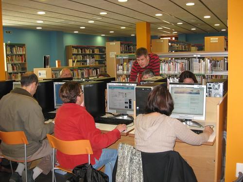 microcurs a la Biblioteca de Calella
