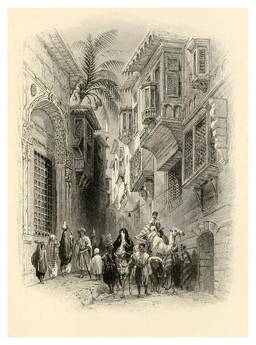 024-Una calle en el Cairo-Bartlett, W. H. 1849