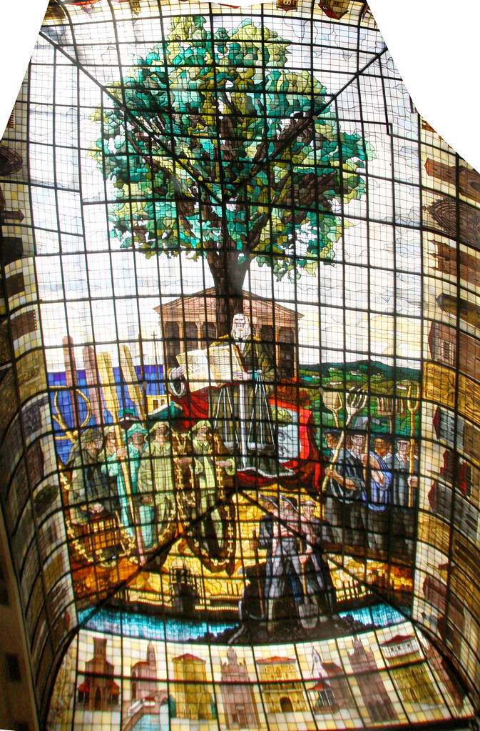 Guernica Stained Glass Panorama