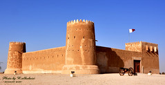 alzobarh fort (RASHID ALKUBAISI) Tags: sky nikon fort doha qatar rashid راشد d90 platinumphoto alzubarah alkubaisi الكبيسي ralkubaisi