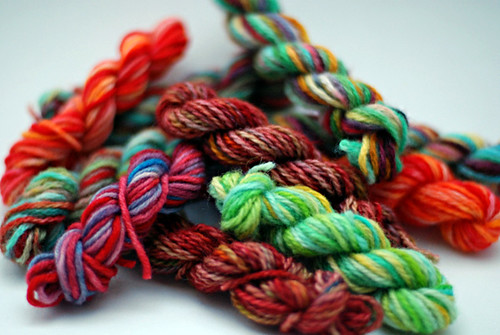 10 mini-skeins