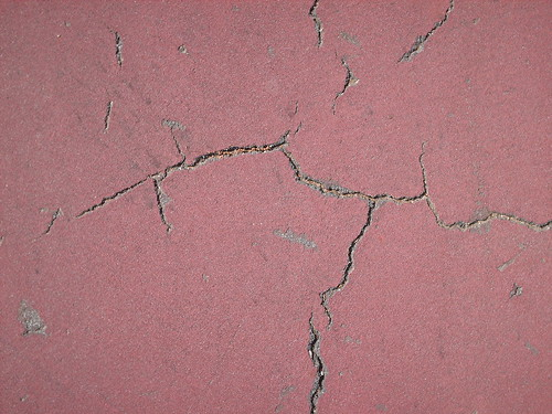 Cracks from Tennis Court - #17