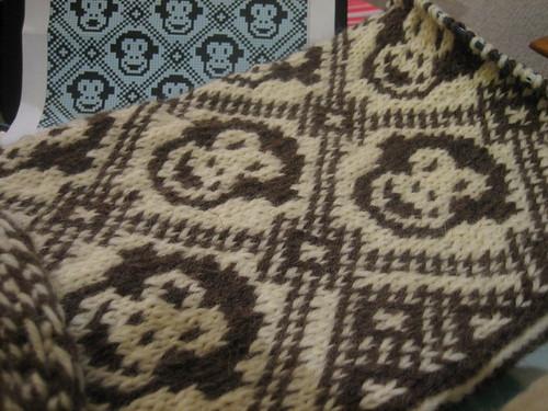 [half of] side 1 of lauren's baby blanket