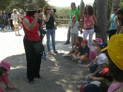 tour guide at knossos