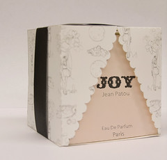 Joy Perfume packaging