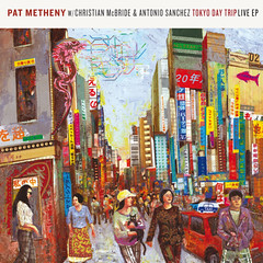 "Pat Metheny Trio, ""Tokyo Day Trip"" Album Art by Josh George"