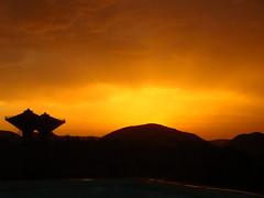 Sunset in Ukkunagaram (pakalavrl) Tags: sunset vizag steelplant ukkunagaram vizagsteelplant