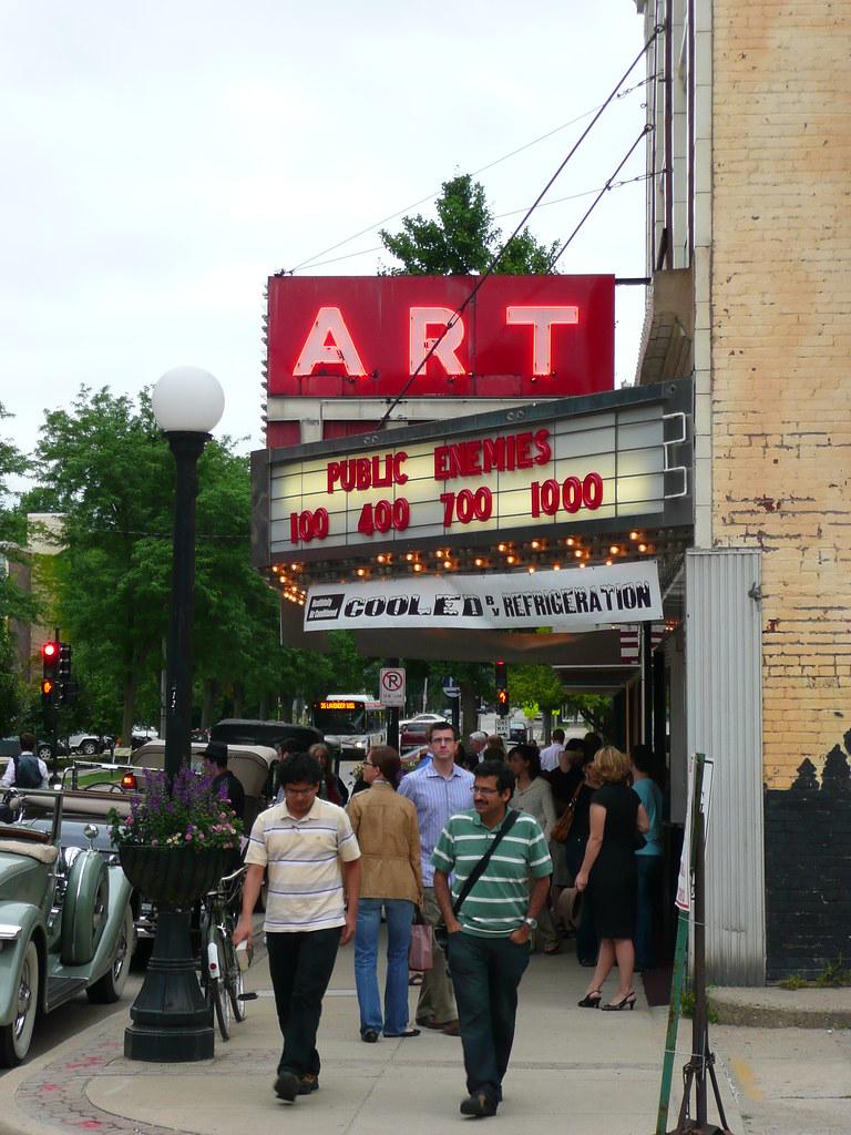 Champaign, IL Art Theater ~ Recreating 1933