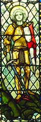 St George, Bracknell (robin.croft) Tags: saint george dragon stainedglass berkshire anglican edwardian bracknell christopherwhall